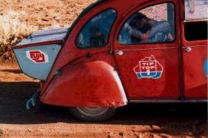 Unprepared Raid 88 car