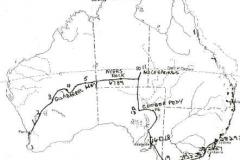 Raid 88 route map