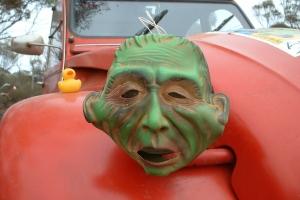 Day 4 Sad Mask
