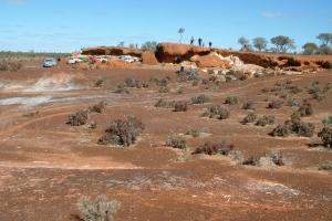 Day 5 Rocky Outcrop near Bindah Mine