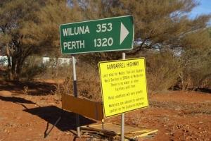 Gunbarrel Hwy sign