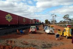 Day 2 Coonana long train 2