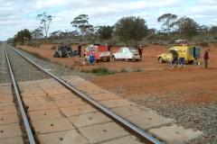 Day 2 Coonana railway lunch break 2