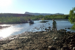 Day 28 Pentecost River rescuing Geoffrey