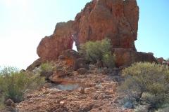 Day 7 de la Poer Range rock formation