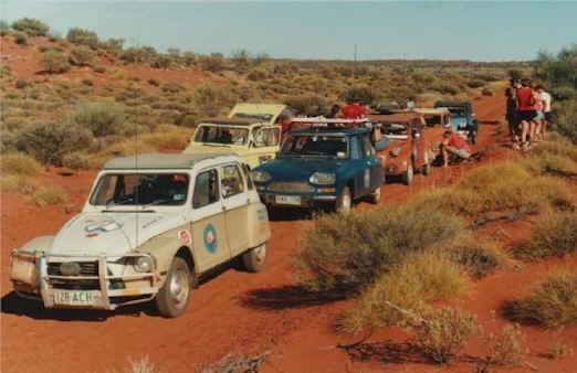 Rest Stop - Gunbarrel Highway