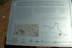 Day 13 Murchison river sign