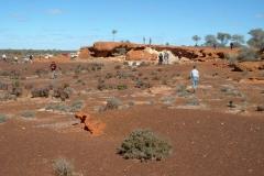 Day 5 Rocky outcrop Bindah Mine
