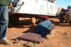 Day 9 CSR repairs en route 1