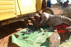 Day 9 CSR repairs en route Tim